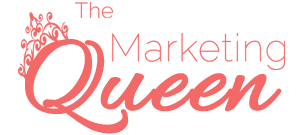 marketing queen logo image